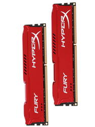 Оперативная память Kingston HyperX FURY Red Series [HX318C10FRK2/16] 16 Гб