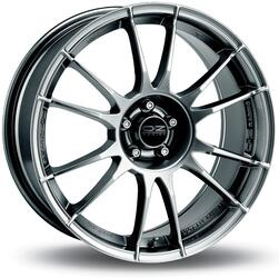 Автомобильный диск Литой OZ Racing Ultraleggera 8x18 5/114,3 ET 35 DIA 75 Crystal Titanium