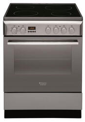 Электрическая плита Hotpoint-Ariston H6V560 (X) RU серебристый