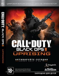 "[167639] Игра ""Call of Duty: Black Ops II Uprising ""(русская версия)"" DVD-box"