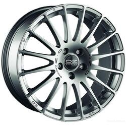 Автомобильный диск Литой OZ Racing Superturismo GT 7x16 5/112 ET 48 DIA 75 Race Silver + Black Lettering